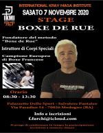 7 Novembre 2020  Stage Boxe de Rue  Robert Paturel - Bari