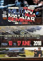 10-17 Giugno 2018 - Stage Military Krav Maga - Norfolk - USA