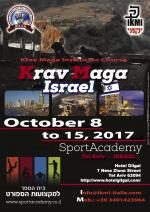 October 8 to 15, 2017 - Krav Maga Instructor Course - Israel