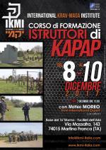 8-10 Dicembre 2017 - Corso Formazione Istruttori di Kapap - Martina Franca