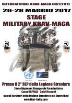 26-28 Maggio 2017 - Stage presso la Legione Straniera di Calvi - Corsica