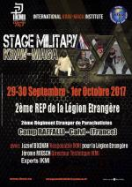 29-30 Septembre 2017 - Stage Military Krav Maga - 2° REP - Calvi