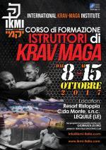 8-15 Ottobre 2017 - Corso Formazione Istruttori di Krav Maga - Lecce