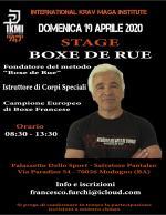 19 Aprile 2020 - Stage Boxe de Rue - Robert Paturel - Bari