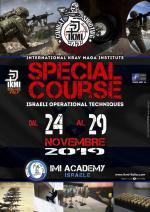 Dal 24 al 29 Novembre 2019 - Special Combat Course Imi Academy  Israel