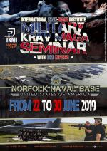 22 - 30 Giugno 2019 - Stage Military Krav Maga - Norfolk Naval Base - USA