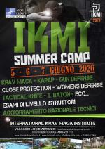 5-6-7 Giugno 2020  International Ikmi Summer Camp