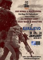 3th Winter Camp - Krav Maga & Shooting 22-23-24 January 2021 Sarajevo