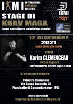 12 Dicembre 2021  Stage di Krav Maga Operativo - Padova