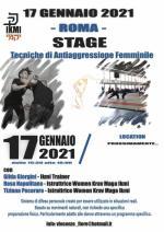 17 Gennaio 2021  Stage antiaggressione Femminile - Roma